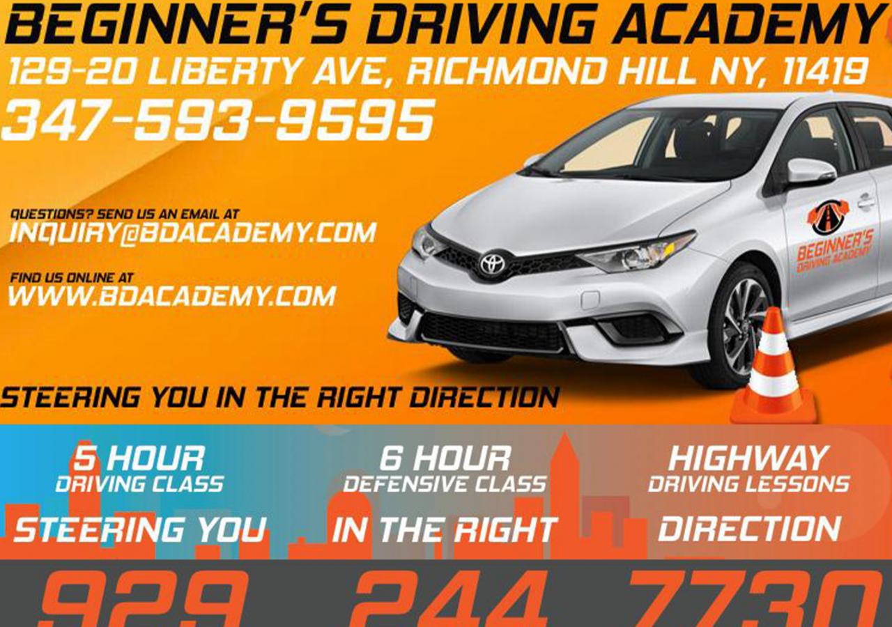 beginner driving academy
